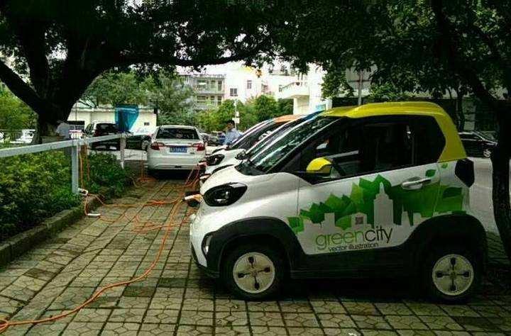 对于没有新能源充电桩的社区,车辆充电怎么办?